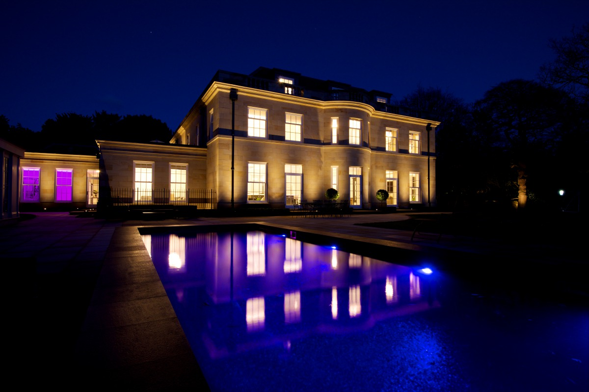 Home lighting design interior exterior SONA Cheshire Manchester