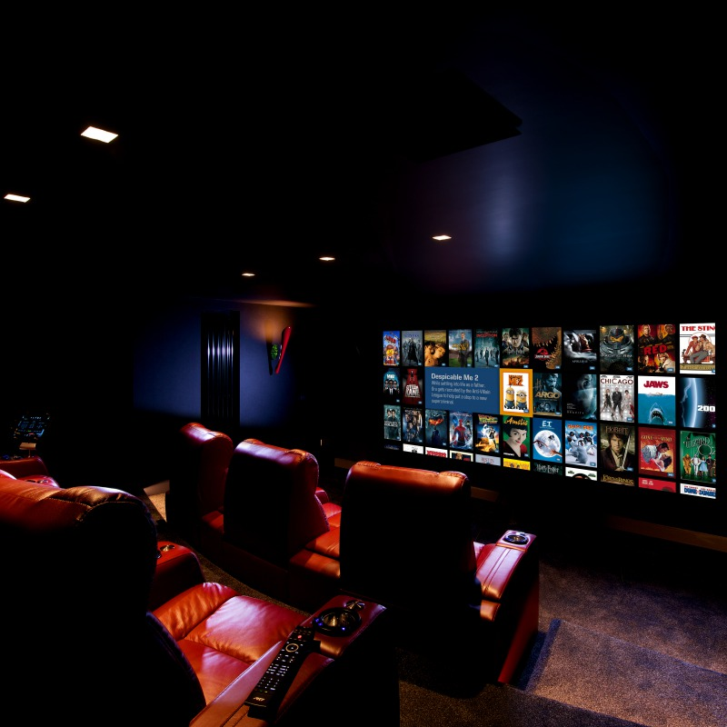 Private Home Cinema Kaleidescape Manchester