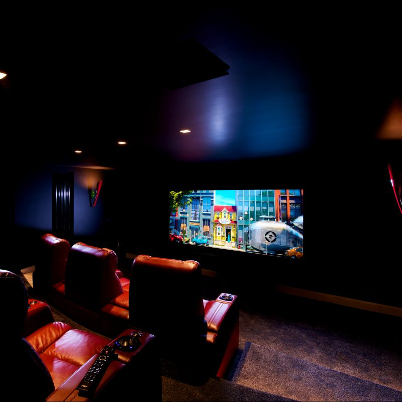 Anamorphic Home Cinema 1