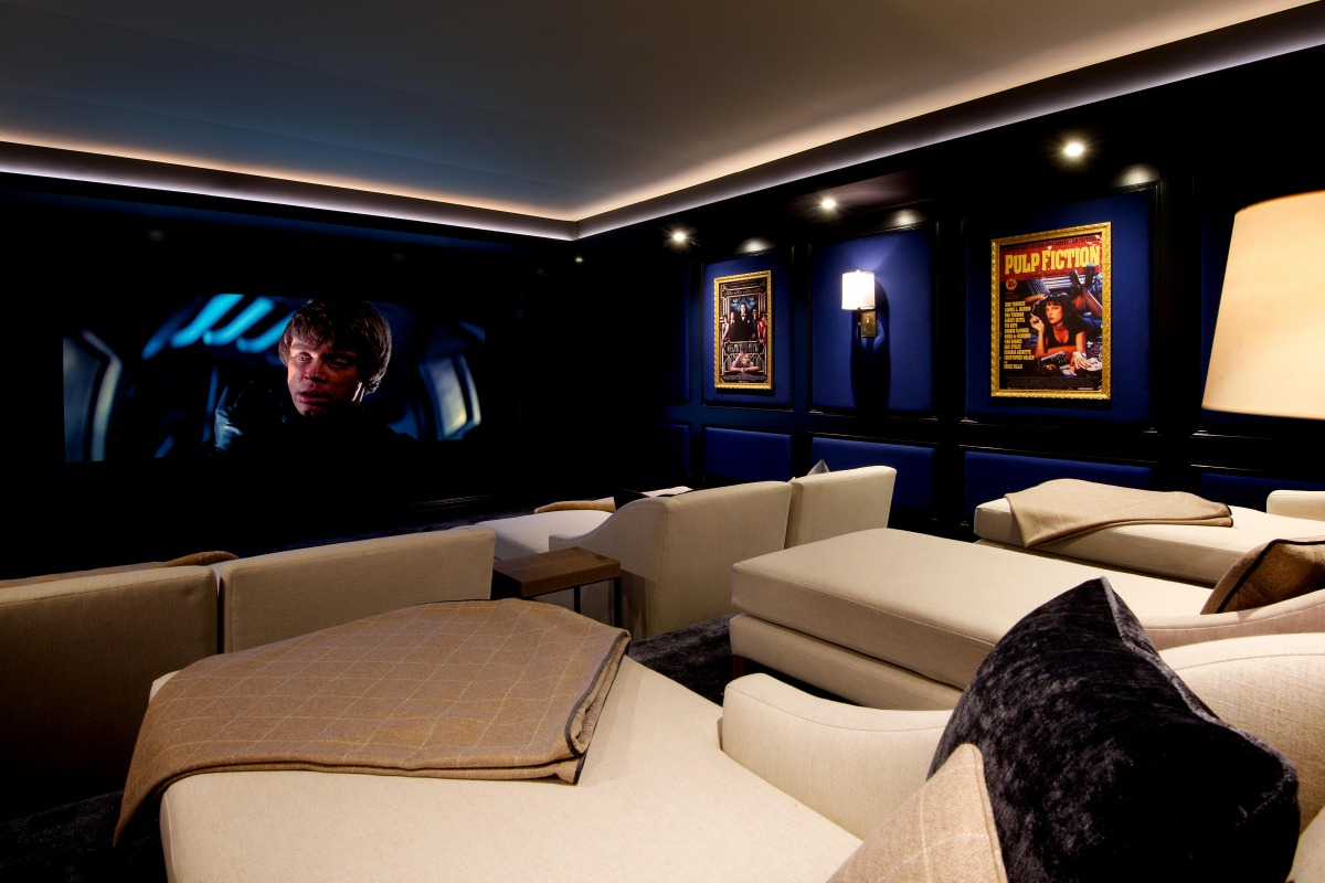 Luxury Private Home Cinema 2