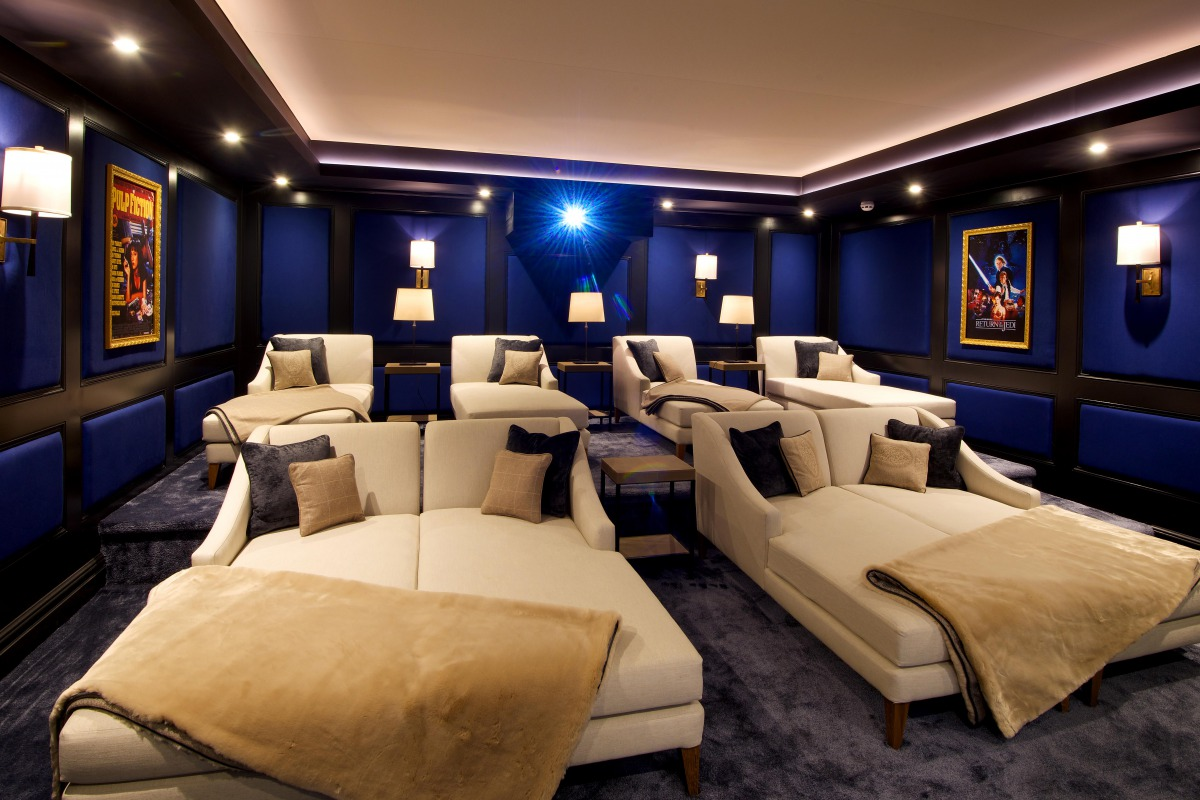 Ultimate Luxury Private Home Cinema Cheshire