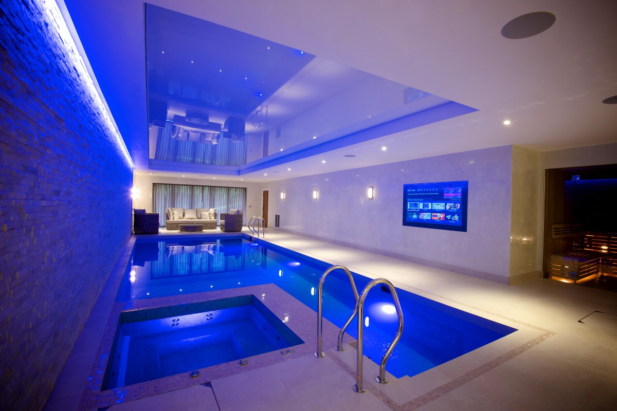 Av in Luxury Swimming Pool SONA Cheshire manchester