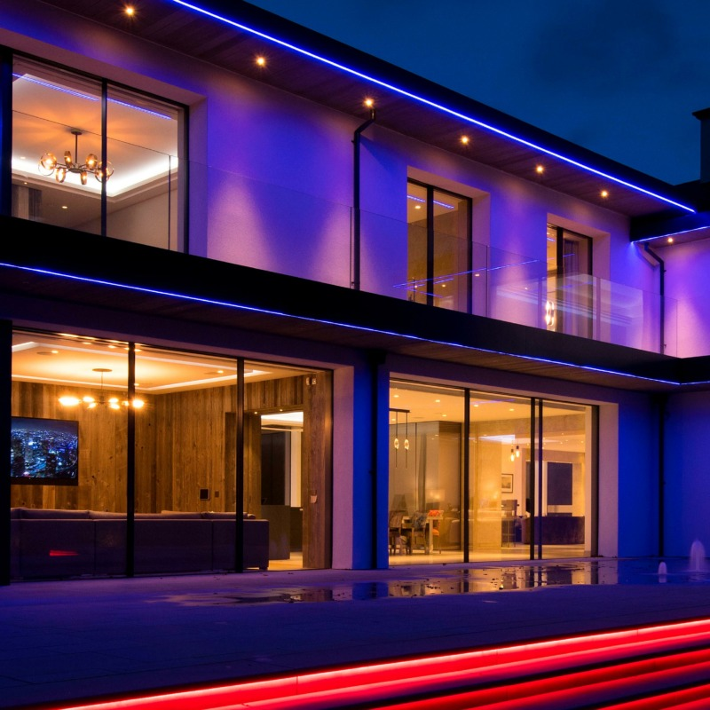 Give Your Home a Glow Up With Exterior Lighting